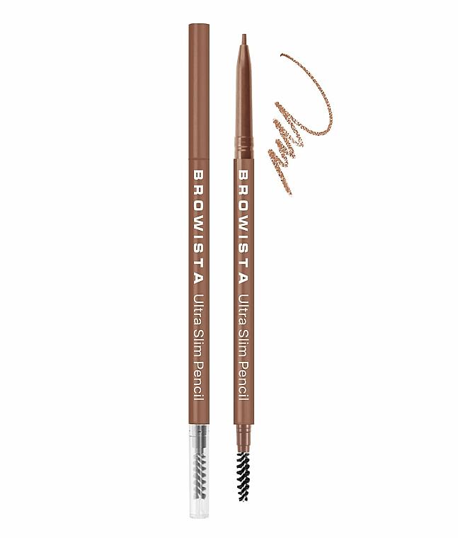 Карандаш для бровей ультратонкий - Belor Design Browista Ultra Slim Pencil