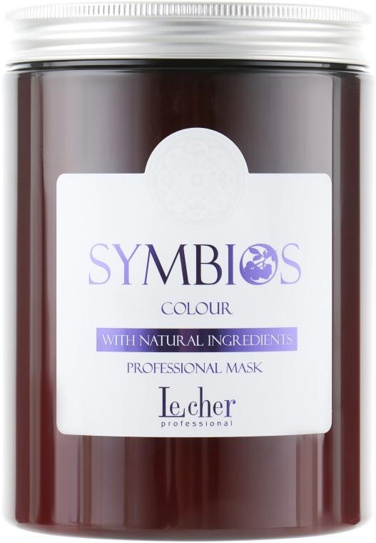 Маска для окрашенных волос - Lecher Symbios Colour Mask