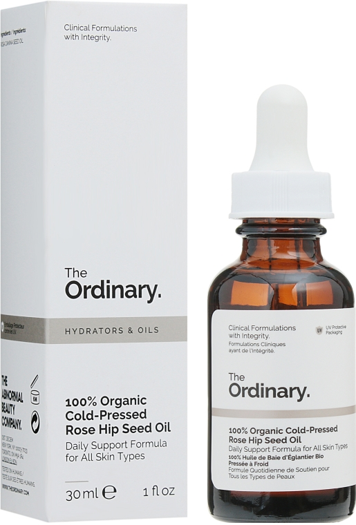 Органическое масло семян шиповника холодного отжима - The Ordinary 100% Organic Cold-Pressed Rose Hip Seed Oil