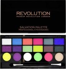 Духи, Парфюмерия, косметика Палетка теней для век, 18 оттенков - Makeup Revolution Salvation Palette Colour Chaos