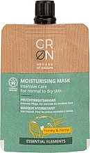 Духи, Парфюмерия, косметика Маска для лица - GRN Essential Elements Honey & Hemp Cream Mask
