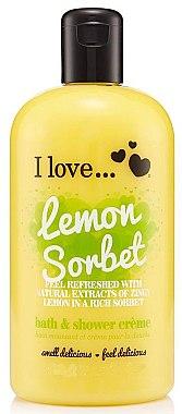 Крем для ванны и душа - I Love... Lemon Sorbet Bath And Shower Cream