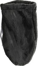 Духи, Парфюмерия, косметика Махровые варежки для парафинотерапии, темно-серые - Tufi Profi