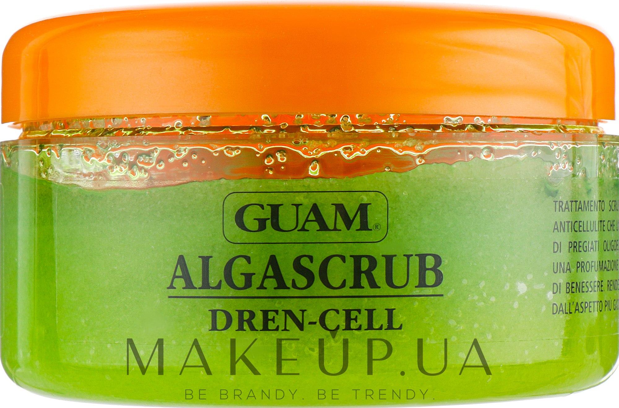Скраб для тела с дренажным эффектом - Guam Algascrub Dren Cell — фото 420g