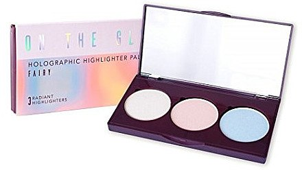Палетка хайлайтеров с голографическим эффектом - Constance Carroll On The Glow Holographic Highlighter Palette — фото N2