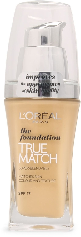 Тональный крем - L'Oreal Paris True Match Foundation SPF 17