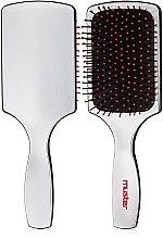 Духи, Парфюмерия, косметика Прямоугольная щетка для волос - Dikson Muster Brush Silver Pneus