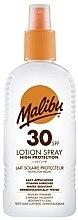 Духи, Парфюмерия, косметика Солнцезащитный лосьон-спрей для тела - Malibu Sun Lotion Spray High Protection Water Resistant SPF 30