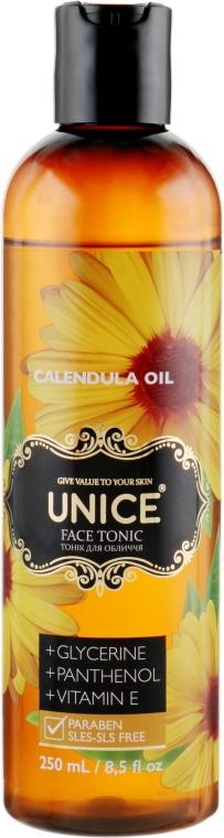 Тоник для лица с маслом календулы - Unice Calendula Oil Face Tonic
