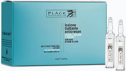 Духи, Парфюмерия, косметика Ампулы для выпрямления непослушных и вьющихся волос - Black Professional Line Anti-Frizz