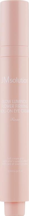 Крем-роллер для глаз с экстрактом розы - JM Solution Glow Luminous Flower Firming Roll-On Eye Cream
