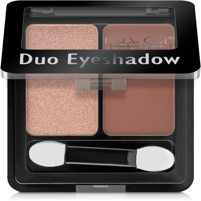 Тени для век - DoDo Girl Duo Eyeshadow