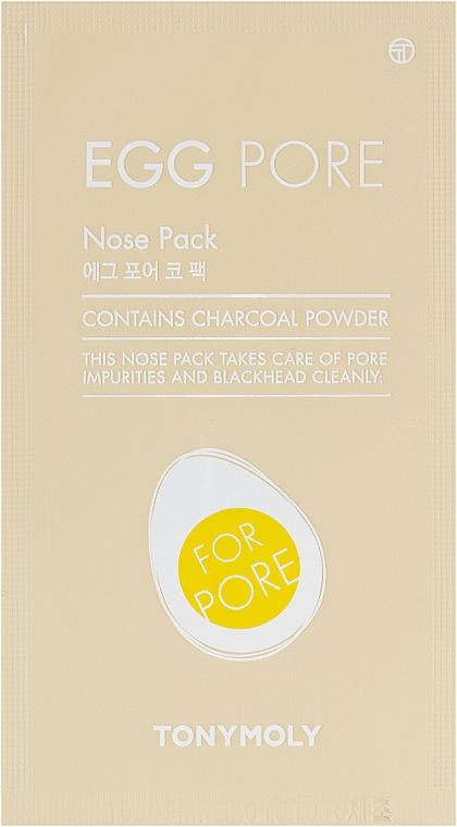 Пластырь для носа от черных точек - Tony Moly Egg Pore Nose Pack