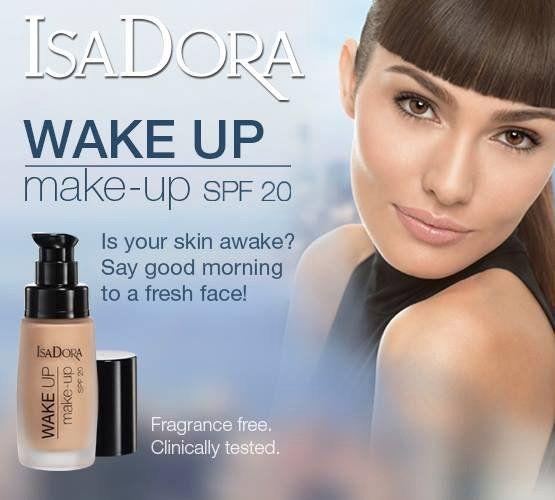 Тональная основа - IsaDora Wake Up Make-Up Foundation SPF 20 — фото N2