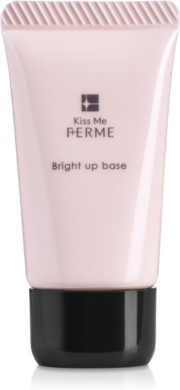 Розово-бежевая основа под макияж - Isehan Kiss Me Ferme Bright up Base
