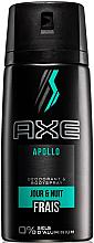 Духи, Парфюмерия, косметика Дезодорант-спрей без алюминия - Axe Apollo Daily Fragrance Deodorant Body Spray