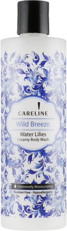 Гель для душа с ароматом водяной лилии - Careline Wild Breeze Water Lilies
