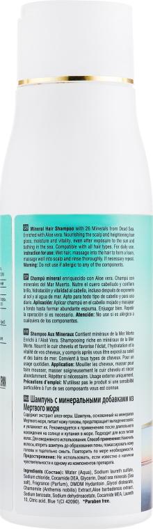 Мінеральний шампунь для волосся - Mon Platin DSM Mineral Theatment Shampoo — фото N2