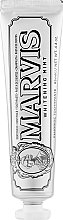 Парфумерія, косметика Відбілювальна зубна паста з ксилітолом - Marvis Whitening Mint + Xylitol