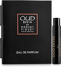 Духи, Парфюмерия, косметика Robert Piguet Oud Divin - Парфюмированная вода (пробник)
