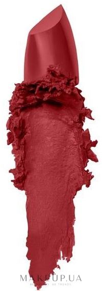 Матовая помада для губ - Maybelline New York Color Sensational Powder Matte Lipstick — фото 05 - Cruel Ruby