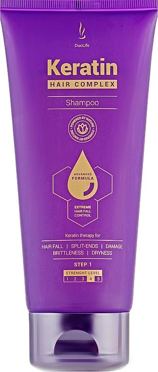 Шампунь с кератином - DuoLife Keratin Hair Complex Advanced Formula Shampoo