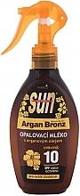 Духи, Парфюмерия, косметика Лосьон для загара - Vivaco Sun Argan Bronz Suntan Lotion SPF 10