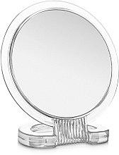 Духи, Парфюмерия, косметика Зеркало косметическое двухстороннее, круглое, прозрачное - Элита