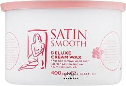 Духи, Парфюмерия, косметика Воск банка кремовый делюкс - Satin Smooth Deluxe Cream Wax