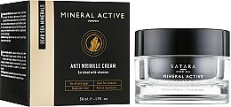 Духи, Парфюмерия, косметика Крем против морщин - Satara Mineral Active Anti Wrinkle Cream