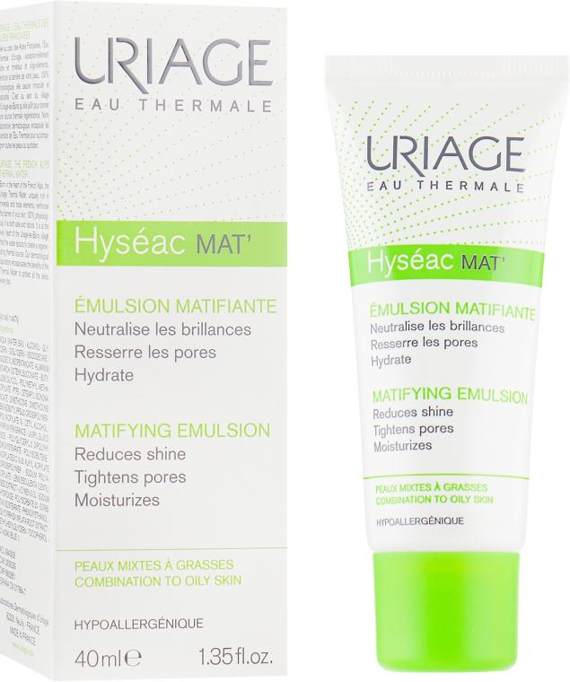 Крем-гель для лица с матирующим эффектом - Uriage Hyseac Mat