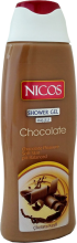 "Духи, Парфюмерия, косметика Гель для душа ""Шоколад"" - Nicos Shower Gel Chocolate"