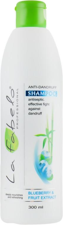 Шампунь против перхоти - La Fabelo Blueberry Fruit Extract Anti-Dandruff Shampoo