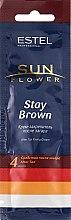 Духи, Парфюмерия, косметика Крем-закрепитель для загара - Estel Professional Sun Flower Stay Brown