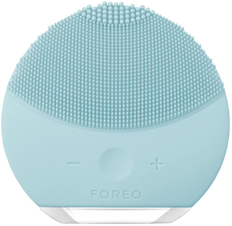 Звуковая очищающая щетка для всех типов кожи лица - Foreo Luna mini 2 Sonic Facial Cleansing Brush for Every Skin Type, Mint
