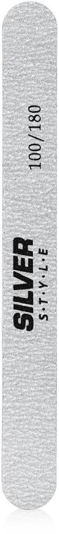 Пилочка полировочная, SZS-100/180, серая - Silver Style