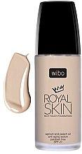 Духи, Парфюмерия, косметика Питательная тональная основа - Wibo Royal Skin