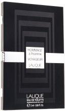 Духи, Парфюмерия, косметика Lalique Hommage a l'homme Voyageur - Туалетная вода (пробник)