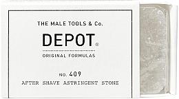 Духи, Парфюмерия, косметика Вяжущий камень после бритья - Depot Shave Specifics 409 After Shave Astringent Stone