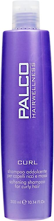Смягчающий шампунь для кудрявых волос - Palco Professional Curl Shampoo Addolcente