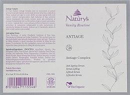 Омолоджуючий комплекс в ампулах - Bema Cosmetici Naturys Vanity Riutine Anti-Ageing Complex — фото N3
