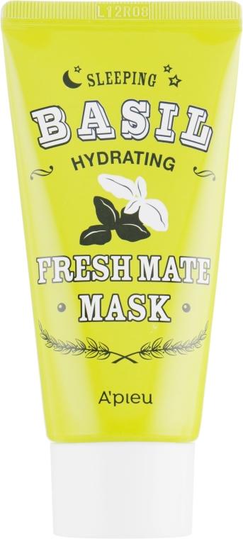 Увлажняющая маска с экстрактом базилика и баобаба - A'pieu Fresh Mate