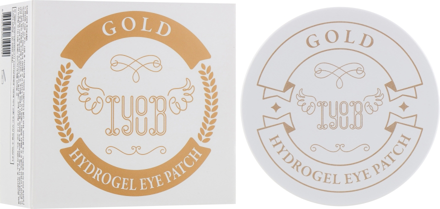 Гидрогелевые патчи с золотом - Iyoub Hydrogel Eye Patch Gold