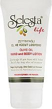 Духи, Парфюмерия, косметика Лосьон для рук и тела с оливковым маслом - Selesta Life Hand And Body Lotion