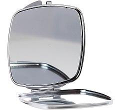 Духи, Парфюмерия, косметика Зеркальце квадратное 85635, в полоску - Top Choice Beauty Collection Mirror