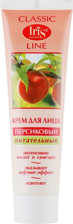 """Крем для лица """"Персиковый"""", питательный - Iris Cosmetic"""