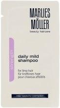 Духи, Парфюмерия, косметика Мягкий шампунь для ежедневного применения - Marlies Moller Strength Daily Mild Shampoo (пробник)
