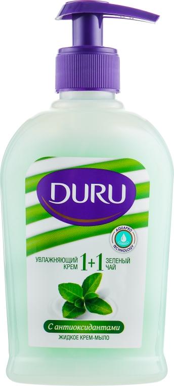 """Крем-мыло с антиоксидантами """"Зеленый чай"""" - Duru 1+1 Soft Sensations"""