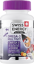 Парфумерія, косметика Омега-3 для дітей - Swiss Energy Omega-3 Multivit