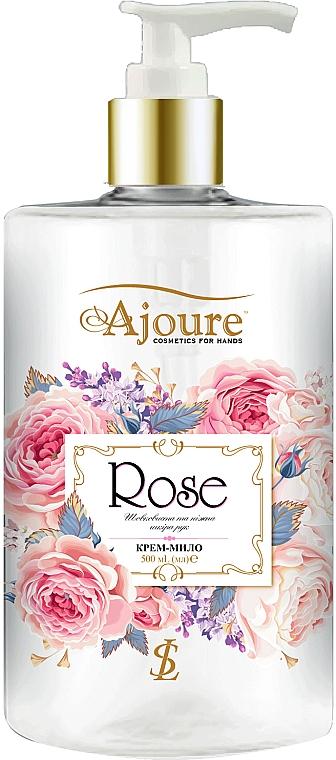 "Крем-мыло для рук ""Роза"" - Ajoure"